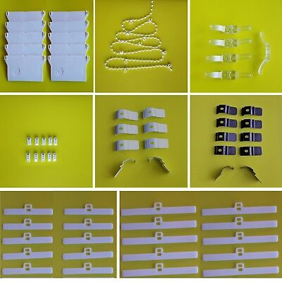 Vertical blinds spare parts - headrail brackets, weights, chains, hangers, cleat