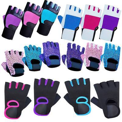 Ladies Weight Lifting Gloves NEOPRENE Workout Training Gym Wear Body Building