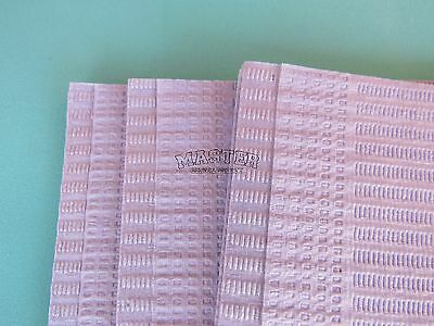 "50 Disposable Patient Bib LAVENDER Dental Tattoo Medical Towel 2+1 Ply 13""x18"""