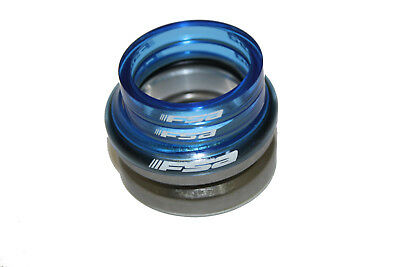 "FSA Steuersatz 1 1/8"" voll-integriert Blau Headset integrated Poly Spacer Blue"