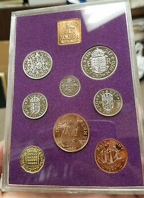 1970 Great Britain and Northern Ireland 8 Coin Proof Set