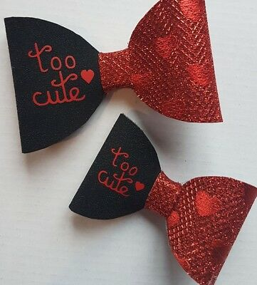 Personalised - Iron On Vinyl Name For Hair Bows - Heat Transfer
