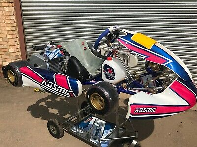 NEW 2019 TONY KART KOSMIC 401r CHASSIS WITH ROTAX EVO 125CC ENGINE / TONY  KART -