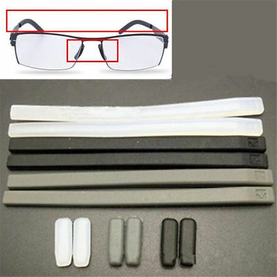 239119837acc 4Pcs set Silicone Gel Cover Temple Tips Pad For ic! berlin Glasses Frame 3