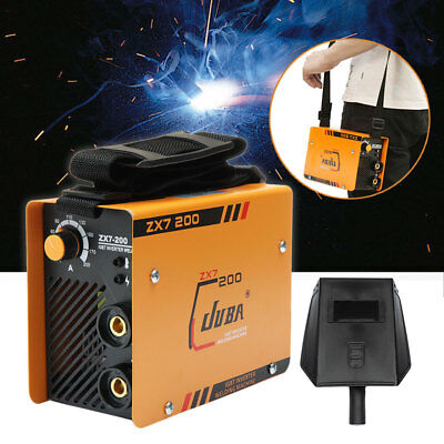 10~200 A Mini Welder MMA ARC Welding Machine DC IGBT Soldering Inverter ZX7-200