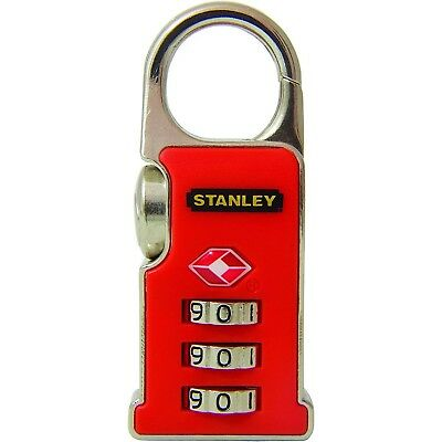 Stanley Travel Max TSA Accepted Luggage Padlock 1-3/16 - 2 Pack