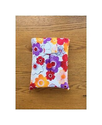 Book Sleeve, Book Cover, Mother's Day Gift, Book Bag, Handmade Book Cover,
