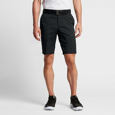 Men's Nike Golf Dri-Fit Flat Front Tech Shorts NEW Black (551808-010) , MSRP $65