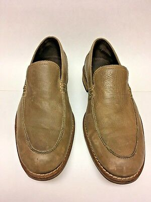 Mens Cole Haan Leather Slip On Loafers Light Brown Sz 9 M
