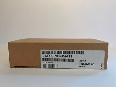 Siemens 6ES5700-8MA11 SIMATIC S5, Bus module - NEW - 6M Warranty