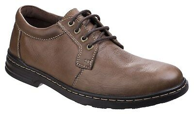 New Mens/Gents Brown Hush Puppies George Hanston Casual Shoes UK SIZES
