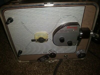 Vintage Brownie 500 Movie Projector Kodak Model A - Works - See Pictures - Rare
