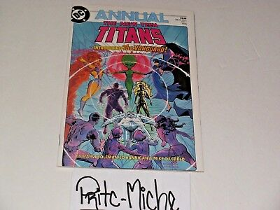 The New Teen Titans Annual #1 1985 DC comics! Check my other auctions! Save 💵💵