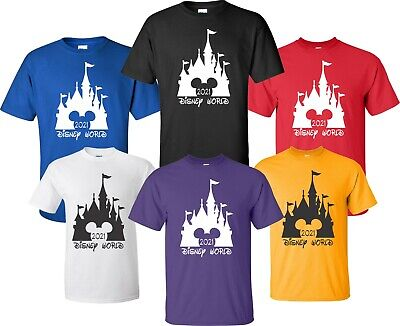 FAMILY VACATION Customized Name T-shirt Mickey Minnie Her His Disney world 2019