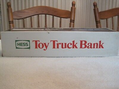 Hess Toy Truck Bank--New In Box