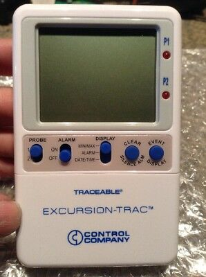 Traceable 6430 Digital Therm, Excursion-Trac Datalog