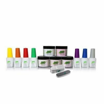 SNS Kit Set Dip Dipping Powder French Signature Nail System Student 3 Complete