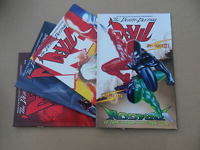 The Death- Defying ' Devil 1 - 4 . Lot Complet . Dynamite 2009 . VF