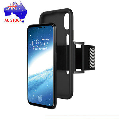 For iPhone X Sports Gym Running Jogging Armband Holder Exercise Phone Case Cover