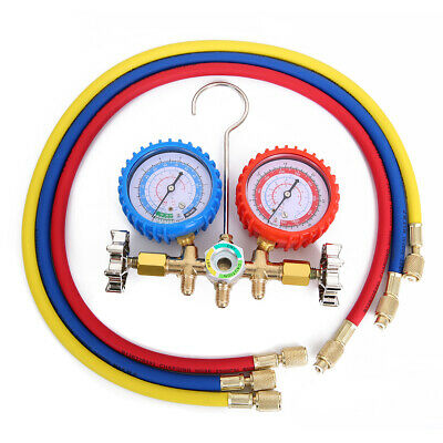Air Condition Refrigeration Charging Manifold Gauge For R134A R12 R22 R404z