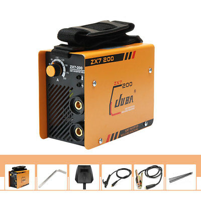 220V MMA ARC Welder DC IGBT Welding Machine Solder Inverter w/ Electrode Clamp