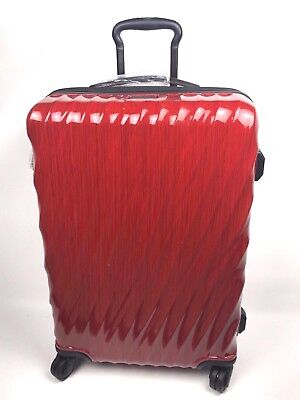 New TUMI- 19 DEGREE SHORT TRIP PACKING CASE, RED / ORIGINAL MSRP $655