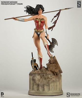 Sideshow Exclusive Wonder Woman Premium Format! New! Dc Justice League Trinity!
