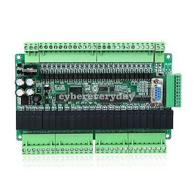 FX3U-48MR/48MR 24-in 24-Relay-Out 6 Analog Input 2 Analog Output PLC Controller