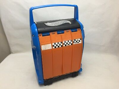 Hot Wheels - Portable Storage Case - With Track - Vintage -