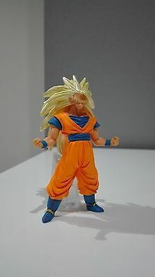 Dragon Ball Z Hg 22 Goku Ss3 Gashapon Bandai Figure