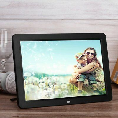 Digital Picture Frame With Wireless Remote 12 Inch Screen Built-in Speaker GP