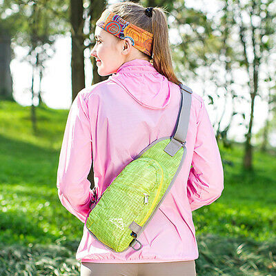 Sports Chest Sling Bag Single Shoulder Bag Casual Backpack Hiking Cycling Pack