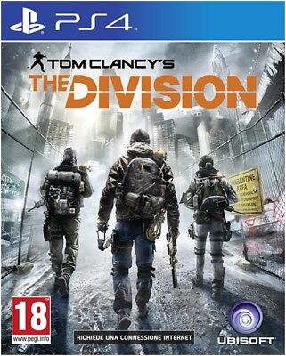 Tom Clancy's The Division Ps4 Italiano Playstation 4 Nuovo