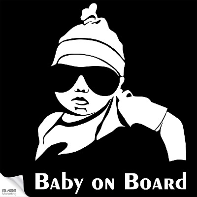 Baby on Board Aufkleber Hangover Baby Kind Autoaufkleber Sticker Tuning Decal