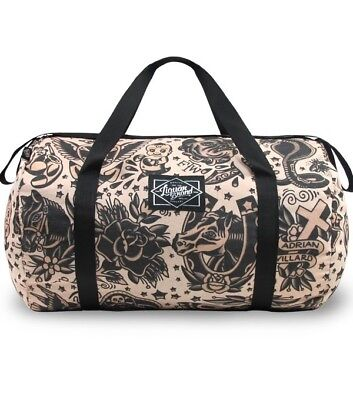 LIQUORBRAND Tattoo Flash Classic Large Travel Overnight Gym Duffel Duffle Bag