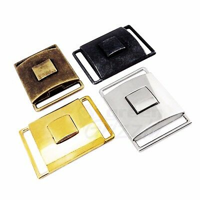 Metal side release buckles for 30 mm webbing strap press button AGP