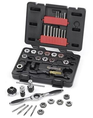 GearWrench 40PC 3886 Ratcheting Tap and Die Drive Tool Set Metric