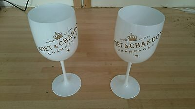 Moet Chandon Ice Imperial Champagne Flutes X 2 New Design 2016 Pub/bar/mancave