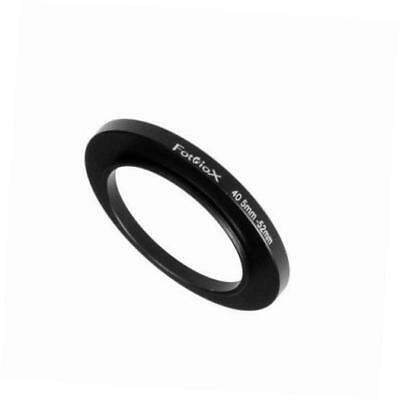 metal step up ring filter adapter, anodized black aluminum 40.5mm-52mm, 40.5-52