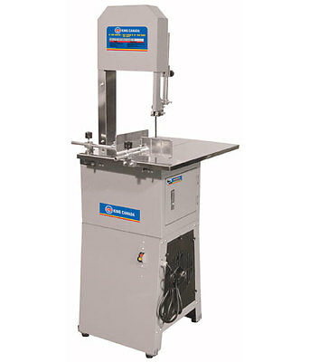 "King Canada Tools KC-10MB 10"" MEAT BANDSAW Scie à Ruban 10"" pour Viande 3/4 HP"