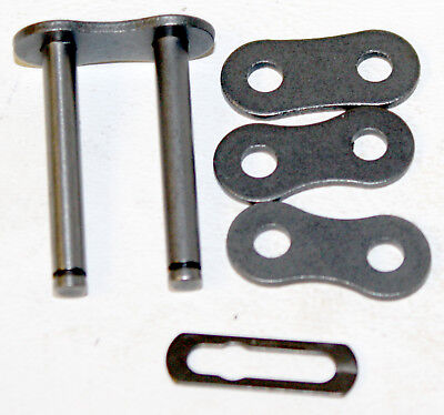 """PRC 40-2 Roller Chain Double Roller Master / Connecting Link .5"""" 1/2"""" Pitch"""