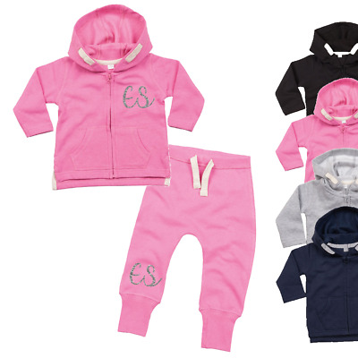 Personalised Initial Toddler Tracksuit Toddler Sets Girls Personalised Toddler