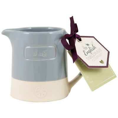 English Tableware Co. Artisan Creamer, Blue Afternoon Tea Tableware Ceramic
