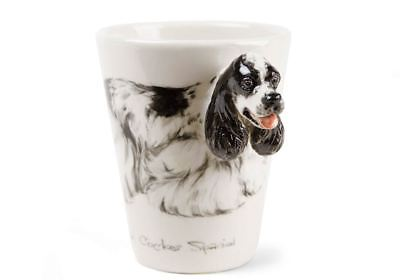 The Original Blue Witch American Cocker Spaniel Handmade Coffee Mug 8oz