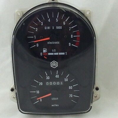 Bnos Genuine Vespa Cosa 200 Scooter Speedometer