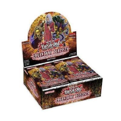 Yugioh Legendary Duelists Ancient Millennium 1 Ed. Booster Box 36 pack fast ship