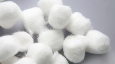"Cotton Balls, Prepping Balls, Medium Size 1"" - 2 Cases, 8000 Ct!"