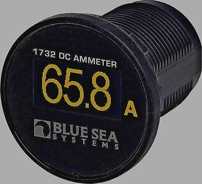 Ammeter gauge Blue Sea 1732 Painless Install Newest most reliable Technology