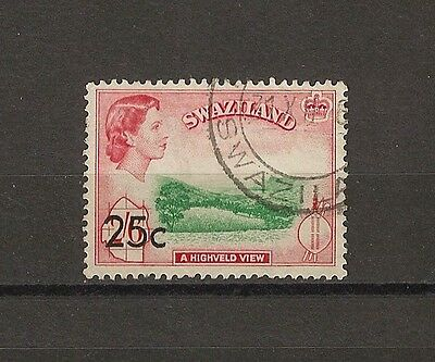 SWAZILAND 1961 SG 74B USED Cat £850