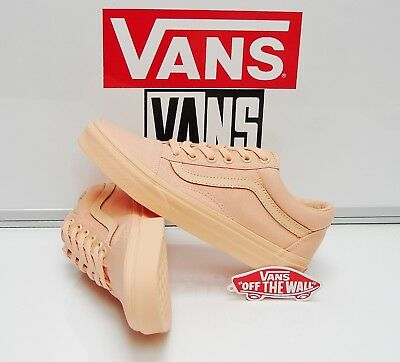 6d4b8b3b4618 VANS OLD SKOOL Mono Canvas Apricot Ice VN0A38G1OYV Women s Size  5 ...